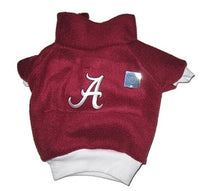 Alabama Crimson Tide Dog Fleece Pullover