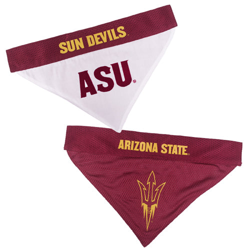 Arizona State Sun Devils Dog Bandanna-Reversible