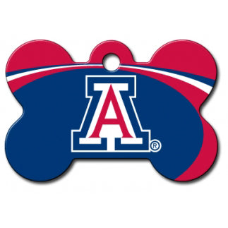 Arizona Wildcats Dog ID Tag - Custom Engraved