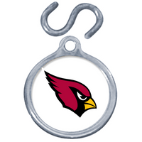 Arizona Cardinals Dog Instant ID Tag