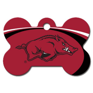 Arkansas Razorbacks Dog ID Tag - Custom Engraved