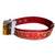Arkansas Razorbacks Leather Collar