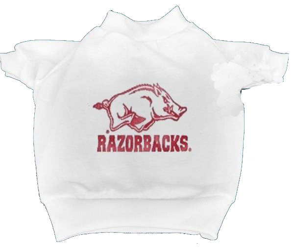 Arkansas Razorbacks Dog T-Shirt