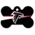 Atlanta Falcons Dog ID Tag- Custom Engraved