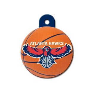 Atlanta Hawks Dog ID Tag-Custom Engraved