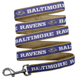 Baltimore Ravens Dog Leashes