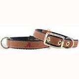 Alabama Crimson Tide Dog Leather Collar