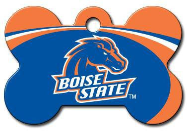 Boise State Broncos Dog ID Tag - Custom Engraved