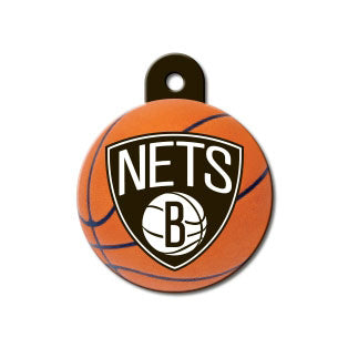Brooklyn Nets Dog ID Tag-Custom Engraved