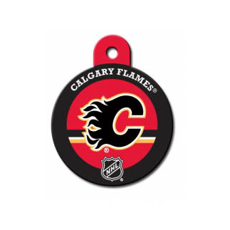 Calgary Flames Dog ID Tag