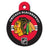 Chicago Blackhawks Engravable Dog I.D. Tag