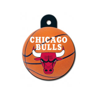 Chicago Bulls Custom Engraved Dog ID Tags