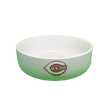 Cincinnati Reds Ceramic Dog Bowl