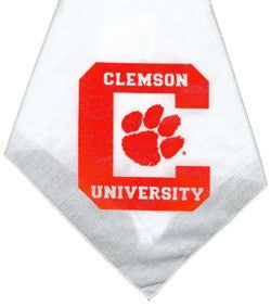 Clemson Tigers Dog Bandana