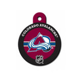 Colorado Avalanche Engravable Dog I.D. Tag