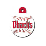 diamondbacks dog id tag