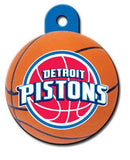 Detroit Pistons Dog ID Tag-Custom Engraved