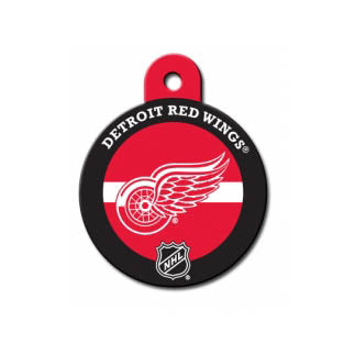 Detroit Red Wings Engravable Dog I.D. Tag