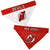 New Jersey Devils Dog Bandana-Reversible