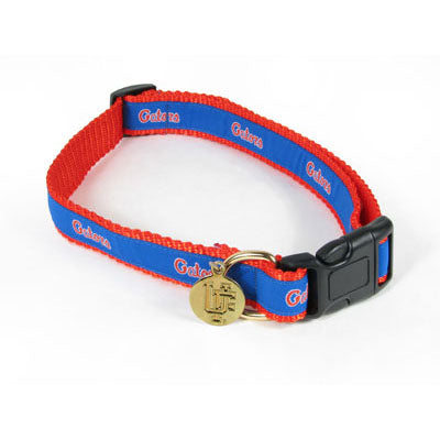 Florida Gators Dog Collar-Ribbon