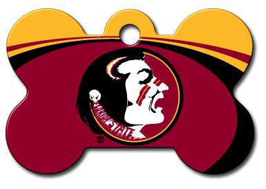 Florida State FSU Seminoles Dog ID Tag - Custom Engraved