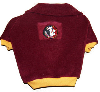 Florida State FSU Seminoles Dog Fleece Pullover