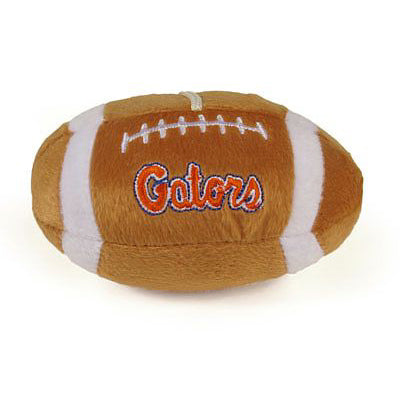Florida Gators Dog Plush Football