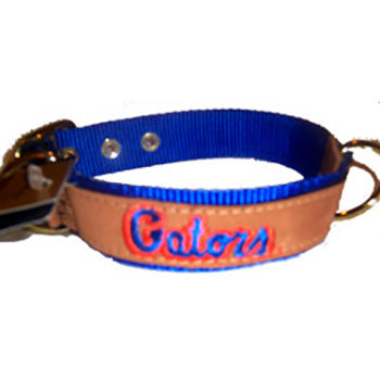 Florida Gators Leather Collar