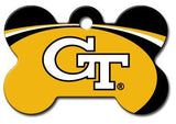 Georgia Tech Yellow Jackets Dog ID Tag - Custom Engraved