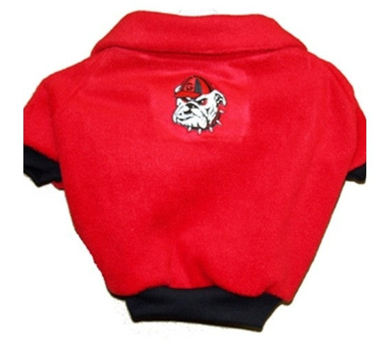 Georgia Bulldogs Dog Fleece Pullover