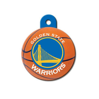 Golden State Warriors Dog ID Tag-Custom Engraved