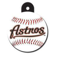 Houston Astros Dog ID Tags