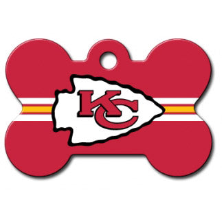 Kansas City Chiefs Dog ID Tag- Custom Engraved