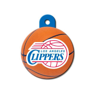 Los Angeles Clippers Dog ID Tag-Custom Engraved