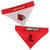 Louisville Cardinals Dog Bandanna-Reversible