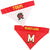 Maryland Terrapins Dog Bandanna-Reversible