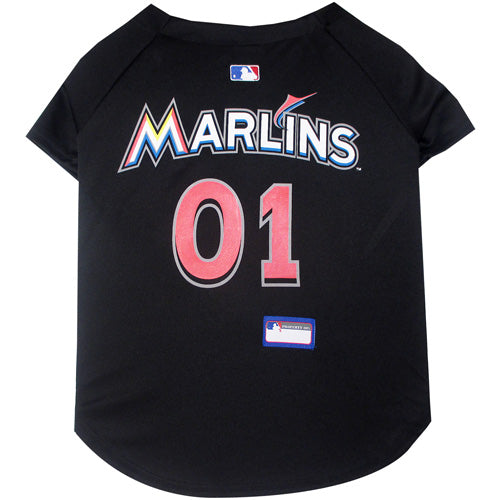 Miami Marlins Dog Jersey-Premium