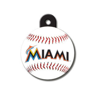 Miami Marlins Engravable Dog I.D. Tag