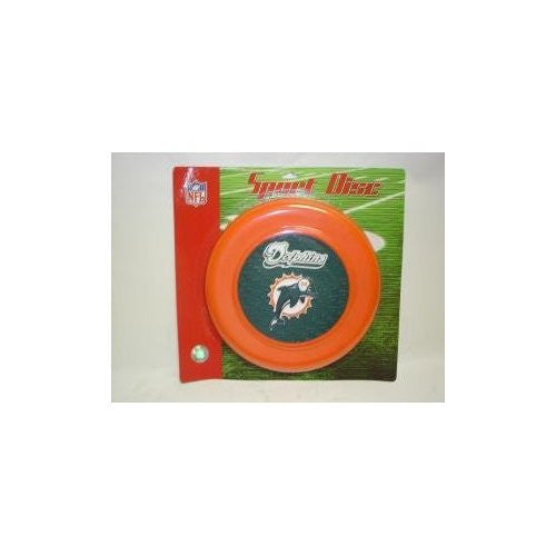 Miami Dolphins Sports Disc Frisbee - Plastic