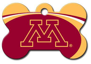Minnesota Golden Gophers Dog ID Tag - Custom Engraved