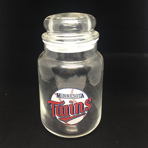 Minnesota Twins Dog Treat Jar