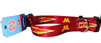 Minnesota Golden Gophers Dog Collar