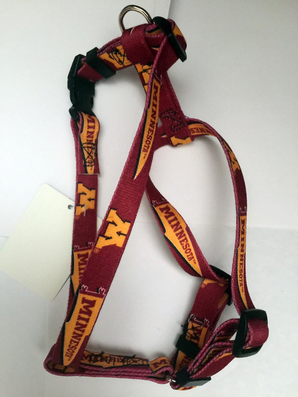 Minnesota Golden Gophers Dog Harness