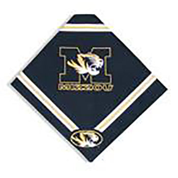 Missouri Tigers Dog Bandana-Deluxe