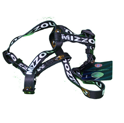 Missouri Tigers Dog Harness