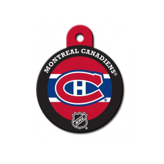Montreal Canadiens Engravable Dog I.D. Tag