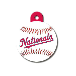 Washington Nationals Engravable Dog I.D. Tag