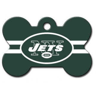New York Jets Dog ID Tag- Custom Engraved