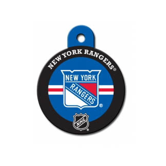 New York Rangers Engravable Dog I.D. Tag