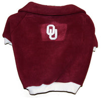 Oklahoma Sooners Dog Fleece Pullover